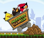Angry Birds Tehlikeli Demiryolu