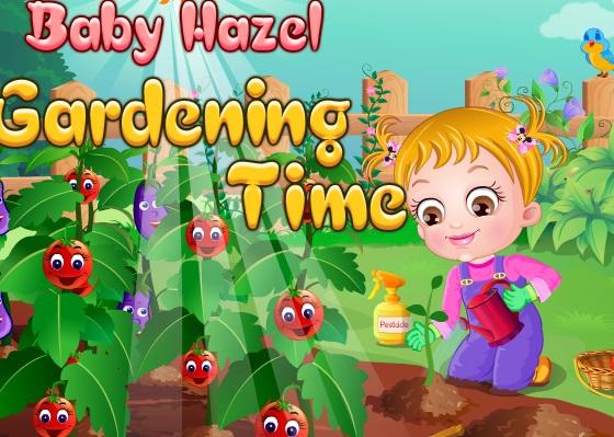 Bebek Hazel Bahçe İşleri