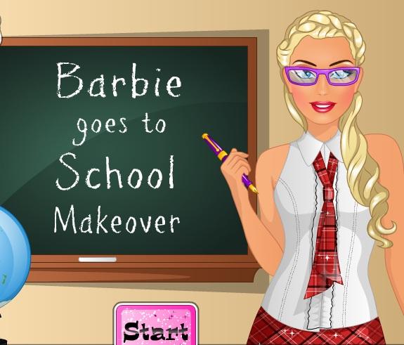 Barbie Okul Makyajı