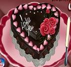 Çikolatalı Sevgililer Günü Pastası