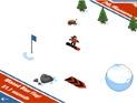 Damalı Bayrak Snowboard