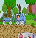 Dora Mavi Tren