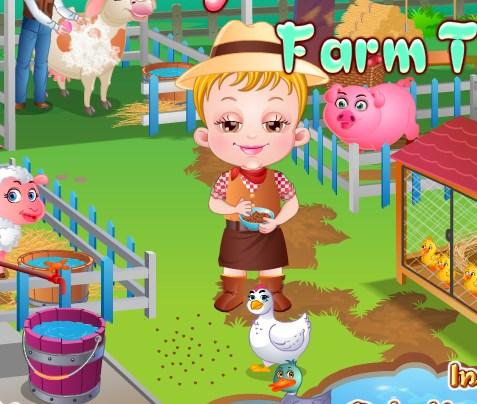 Bebek Hazel Çiftlik İşleri