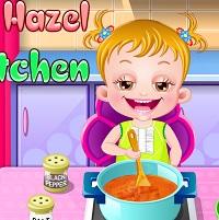 Hazel Bebeğin Mutfağı