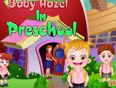 Hazel Bebek Okulda