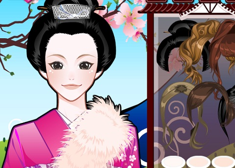 Japon Kızı Süsle 2