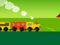 Mini Karton Tren