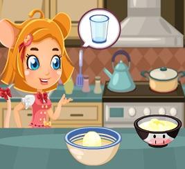 Mutfakta Scramble Pişirme