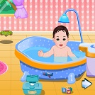 Tatlı Bebek Yıkama