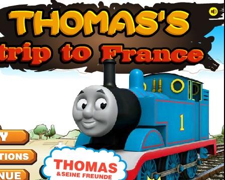 Tren Thomas Fransa Gezisi
